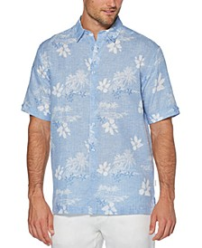 Men's Chambray Floral Shirt