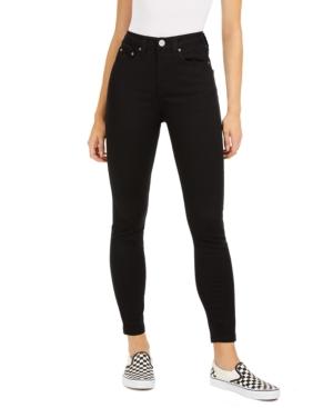 Dickies Junior's 5-pocket Hi Rise Skinny Jeans In Black