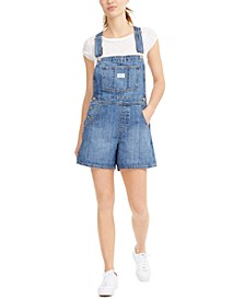 Cotton Denim Shortalls