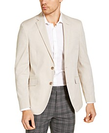 Men's Slim-Fit Stretch Chambray Sport Coat, Created for Macy's