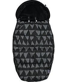 Universal Baby Stroller Sleeping Bag Footmuff, Large