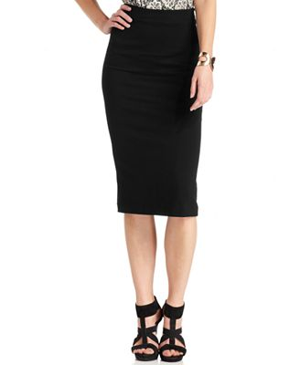 Vince Camuto Ponte-Knit Midi Skirt - Skirts - Women - Macy's
