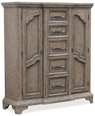 Bristol  Bedroom Chest with Doors