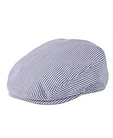 Men's Seersucker Ivy Cap