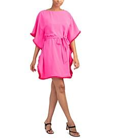Ray Tie-Waist Caftan Dress