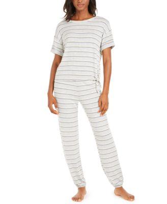 Side-Tie Pajama T-Shirt, Created for Macy's