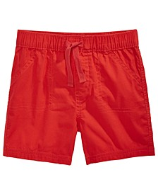 Baby Boys Woven Cotton Shorts, Created for Macy's