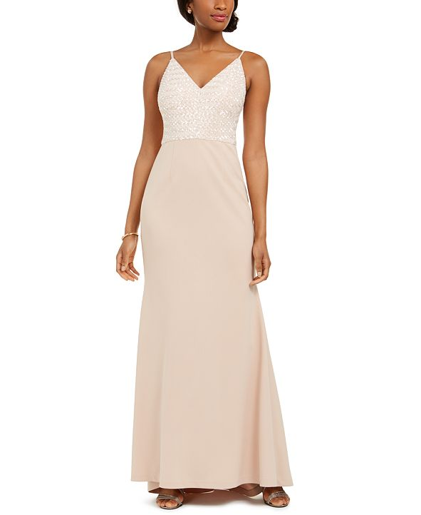 Vince Camuto Sequined Gown