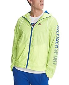 Men's Dylan Logo Graphic Windbreaker Jacket, Created for Macy's