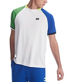 Men's Allen Custom-Fit Colorblocked Performance Polo Shirt