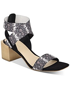 Women's Ellete Bondle Block-Heel Sandals