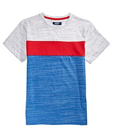 Big Boys Tommy Pieced Colorblocked T-Shirt