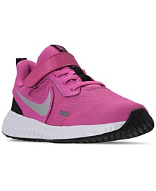 Little Girls Revolution 5 Stay-Put Closure Running Sneakers from Finish Line