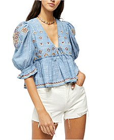 Tallulah Embroidered Top