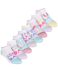 Little & Big Girls 8-Pack Days of the Week Socks