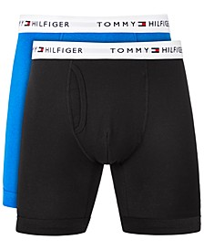 Men's Big & Tall 2-Pk. Cotton Classics Boxer Briefs