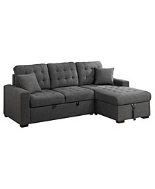 Bonita 2-Pc Sectional Sleeper Bed