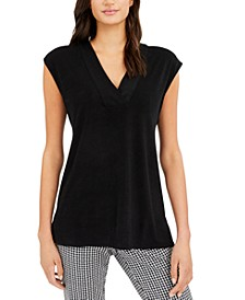 V-Neck Cap-Sleeve Top, Created for Macy's