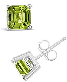 Peridot (2-1/3 ct. t.w.) Stud Earrings in Sterling Silver
