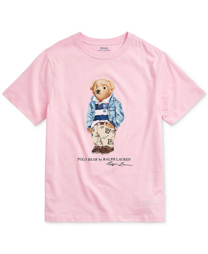 Polo Ralph Lauren - Big Boys Preppy Bear Cotton Jersey T-Shirt
