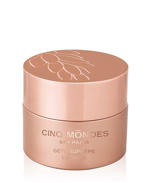 Cinq Mondes Geto Supreme The Cream for Face, 1.7 fl oz