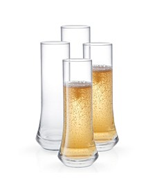 Cosmos Stemless Champagne Glasses - Set of 4
