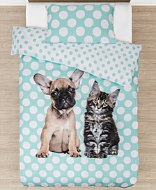FURever Duvet Cover Set, Twin