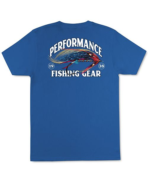 Columbia Sportswear Men's Performance Fishing Gear Fly Fishing Graphic T-Shirt