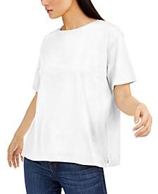 Cotton T-Shirt, Regular & Petite Sizes