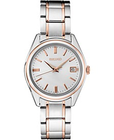 Women's Essentials Two-Tone Stainless Steel Bracelet Watch 36mm