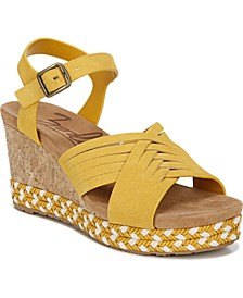 Paola Wedge Sandal