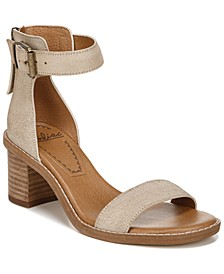 Ilsa Block-Heel City Sandals