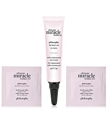 Receive a Free 3pc Ultimate Miracle Worker Skincare Gift with any $65 philosophy purchase!