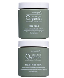 Scientific Organics At-Home Facial Peel and Clarifying Kit