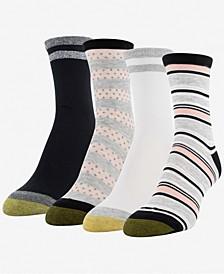 GOLDTOE® Women's 4-Pk. Multi Texture Midi Socks