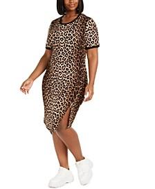 Trendy Plus Size Statement T-Shirt Dress