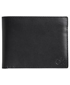 Men's Removable Passcase Leather Wallet