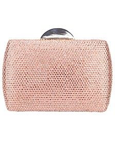 Crystal Minaudiere Clutch