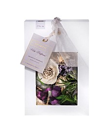 Viola Driftwood Decorative Home Fragrance Bag with Botanicals