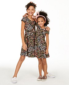 Little & Big Girls Heart-Print Dress Separates, Created for Macy's