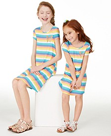 Epic Thread Little & Big Girls Rainbow Striped Dress Separates, Created for Macy's