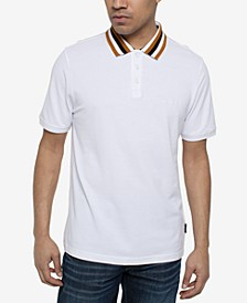 Men's Yarn Dyed Polo Shirt