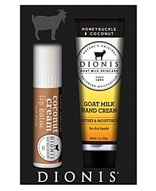 Goat Milk Lip Hand Set of 2