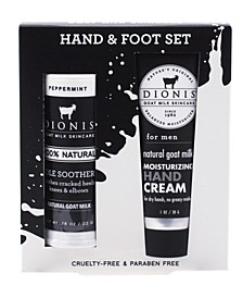 Men's Hand Foot Goat Milk Set of 2