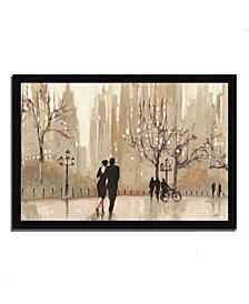 An Evening Out Neutral by Julia Purinton Framed Painting Print