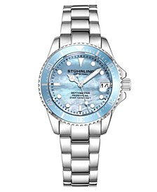 Women's Silver Tone Stainless Steel Bracelet Watch 32mm