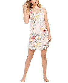 Floral by Floral Nikrooz Racerback Floral-Print Chemise Nightgown