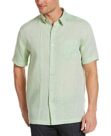 Men's Linen Pintuck Shirt