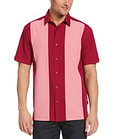Men's Colorblock-Panel Shirt