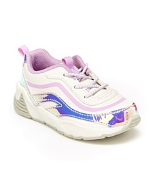 B'Gosh Toddler Girls Belair Athletic Sneaker